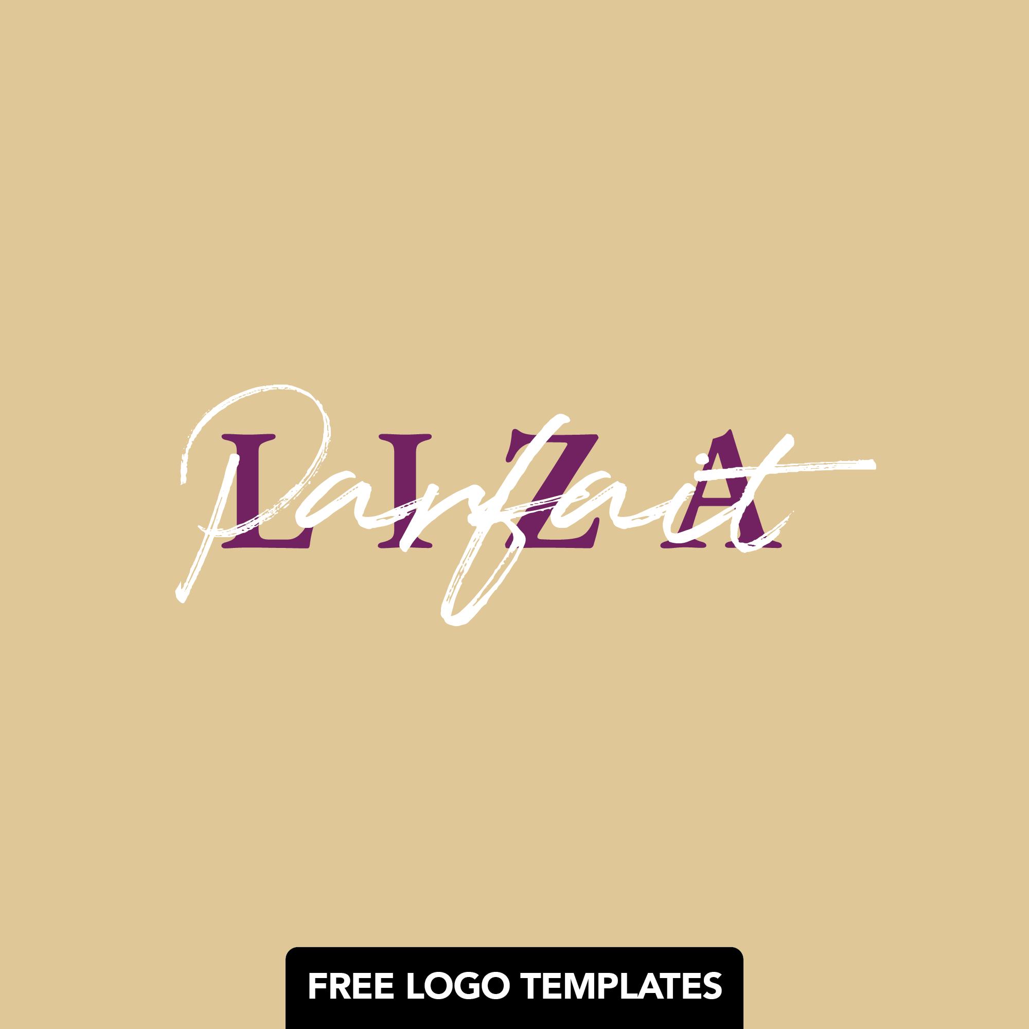 Liza Parfait – Free Editable Premade Logo Template – PSD/AI Files Provided